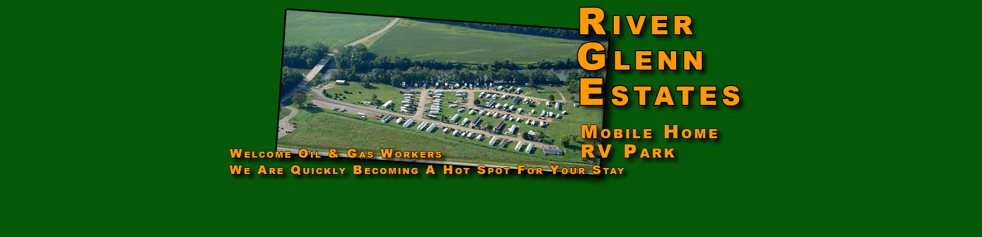 RV Mobile Home Park Campground River Glenn Estates Ohio